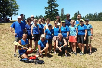 2014 Dragon Boat Races on Dexter Lake